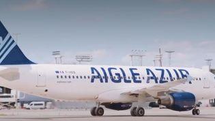 La compagnie française Aigle Azur, en grande difficulté, veut céder une partie de ses activités. (FRANCE 2)