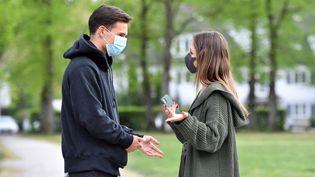 Photo d'illustration.La pandémie et son climat anxiogène ont accentué les difficultés traversées par certains couples. (FRANKHOERMANN/SVEN SIMON / SVEN SIMON / AFP)