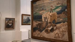 L'exposition Paul Sibra réunit une soixantaine d'œuvres.  (capture d'écran France 3 / Culturebox)