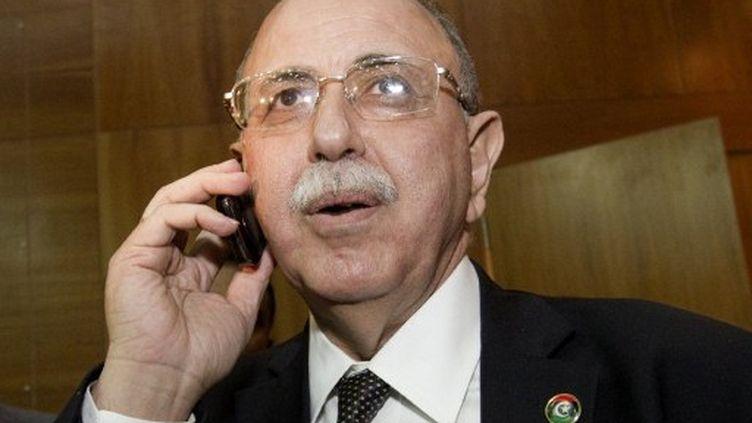 Abdel Rahim al-Kib élu Premier ministre du gouvernement de transition libyen. (MARCO LONGARI / AFP)
