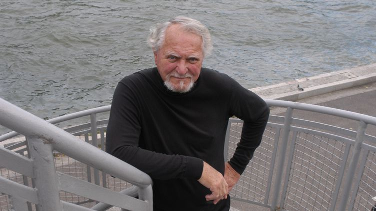 Le romancier américain Clive Cussler, lors d'une visite à Paris en 2004 (ULF ANDERSEN / ULF ANDERSEN)