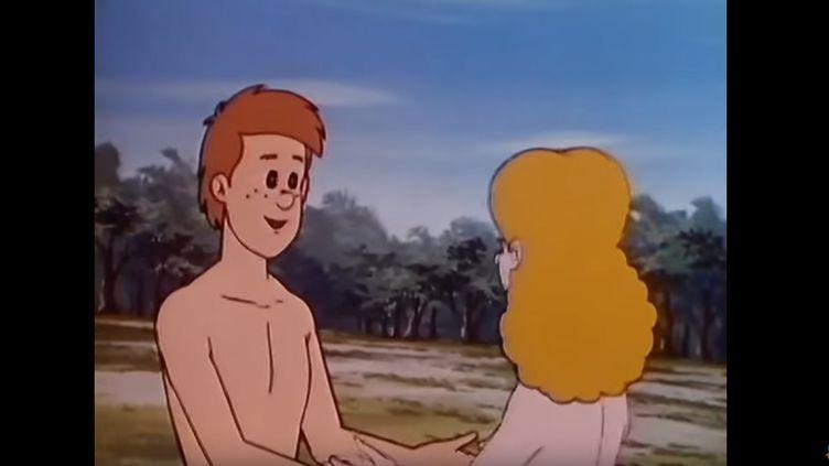 Extrait du générique du dessin animé : Il était une fois...la vie. (YOUTUBE)