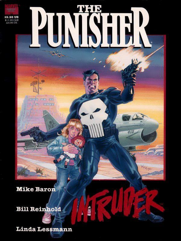 The Punisher, un personnage Marvel créé en 1974 sur lequel Linda Lessmann Reinhold et Bill Reinhold ont collaboré  (Marvel)