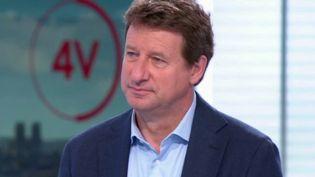 """""""On peut créer des centaines de milliers d'emplois en s'organisant"""" : Yannick Jadot était l'invité des 4 Vérités (FRANCE 2)"""