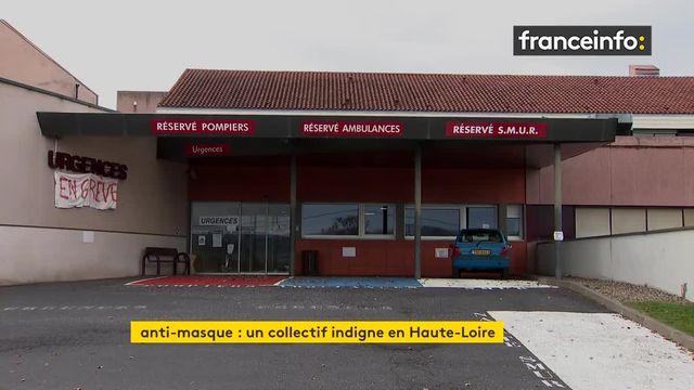 Les professionnels de santé indignés par la distribution de tracts anti-masque à Brioude en Haute-Loire.