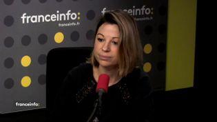 Célia Gautier,responsable climat-énergie à la Fondation pour la nature et l'homme, invitée de franceinfo, mardi 19 décembre 2017. (FRANCEINFO / RADIOFRANCE)