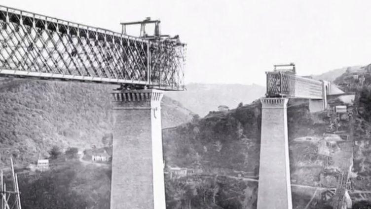 Le viaduc des Fades (Puy-de-Dôme), terminé en 1909, est l'ancien plus haut viaduc du monde, et a été choisi par la Mission patrimoine afin d'être restauré. (FRANCE 3)
