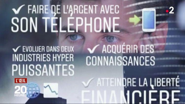Devenir trader sur son téléphone : l'arnaque qui cible les jeunes (FRANCE 2 / FRANCETV INFO)
