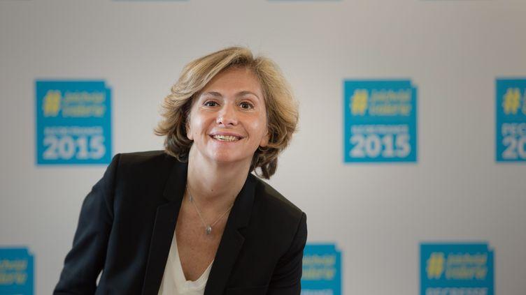 La tête de liste LR-UDI-MoDem pour les régionales en Ile-de-France, le 2 octobre 2015 à Paris. (CHAMUSSY / SIPA)