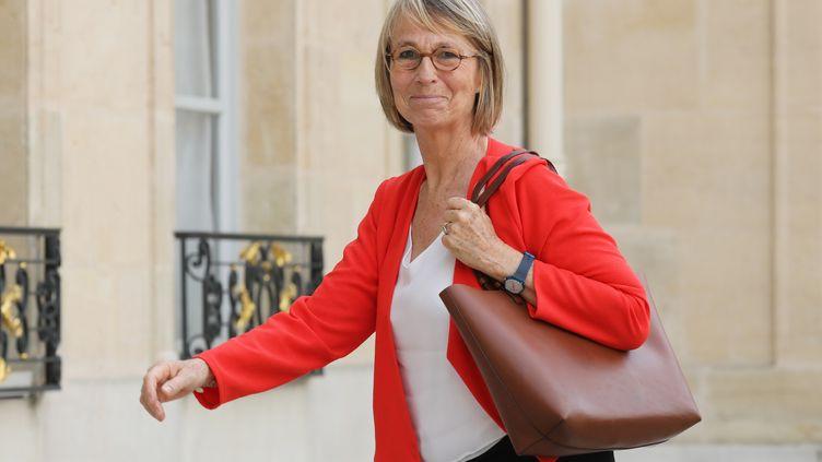 La ministre de la Culture, Françoise nissen, le 31 mai 2018 à Paris. (LUDOVIC MARIN / AFP)
