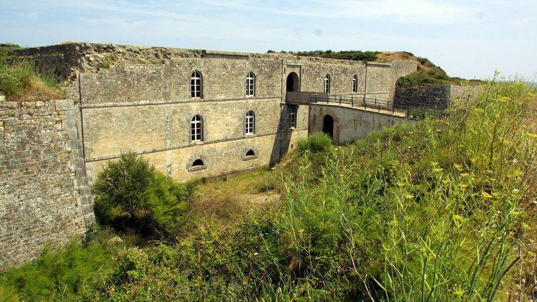 Le fort d'Hoëdic appelé également le fort Louis Philippe est inscrit au site des monuments historiques. (FRANCOIS DESTOC / MAXPPP)