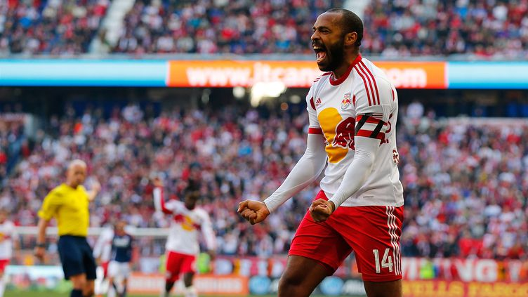 Thierry Henry n'a pas réussi à scorer malgré ses efforts. (MIKE STOBE / GETTY IMAGES NORTH AMERICA)