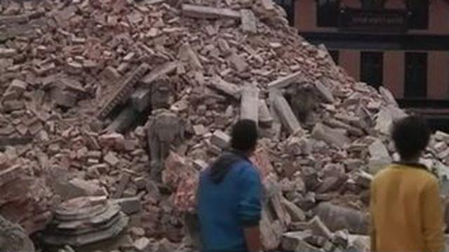 Katmandou : la vie reprend son cours tant bien que mal