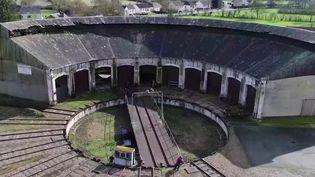 Sarthe : la rotonde ferroviaire de Montabon rénovée grâce au Loto du patrimoine (FRANCE 3)