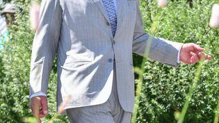 Le prince Charles au jardin botanique du Pays de Galles, le 3 juillet 2019 (REX/SIPA / SHUTTERSTOCK)