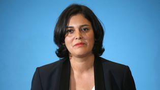 La ministre du Travail Myriam El Khomri lors d'une conférence de presse sur la réforme du Code du travail à Matignon, à Paris, le 4 novembre 2015. (CHARLES PLATIAU / REUTERS)