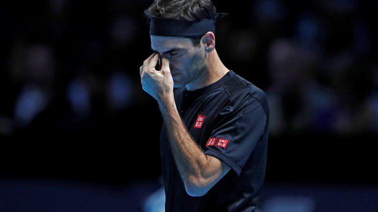 Roger Federer, N.5 mondial actuel, ne sera pas de la partie à Melbourne (ADRIAN DENNIS / AFP)