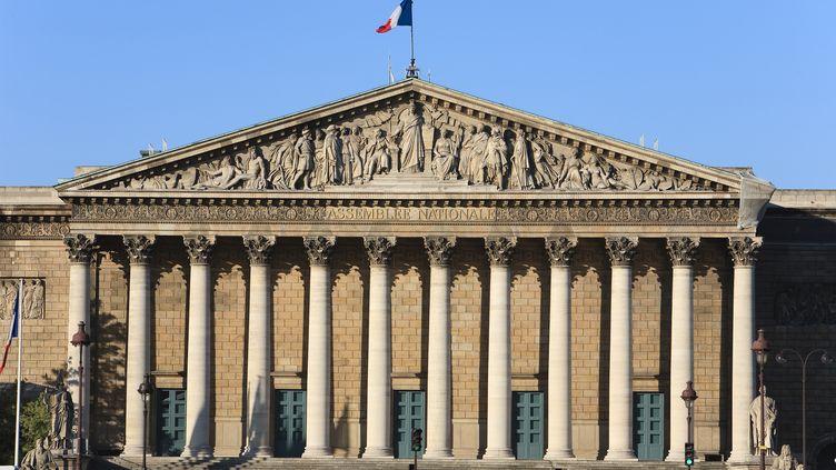 Le Palais-Bourbon, où siège l'Assemblée nationale, à Paris, le 29 mai 2011. (PATRICK ESCUDERO / HEMIS.FR)