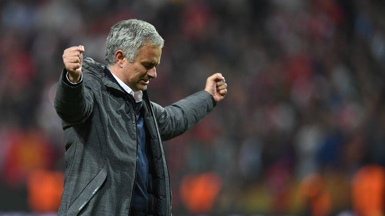 L'entraîneur de Manchester United, José Mourinho
