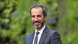Christophe Fanichet, PDG de SNCF Voyageurs, le 14 mai 2020 à Paris. (LUDOVIC MARIN / AFP)