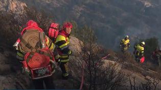 Les Bouches-du-Rhône et le Vaucluse ont été placés en vigilance orange aux vents violents dimanche 5 mai. Les rafales ont déjà provoqué des feux de forêt. (FRANCE 3)