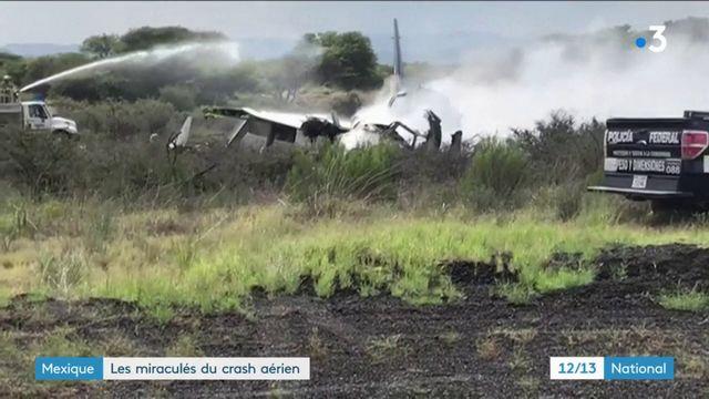 Mexique : les miraculés du crash aérien