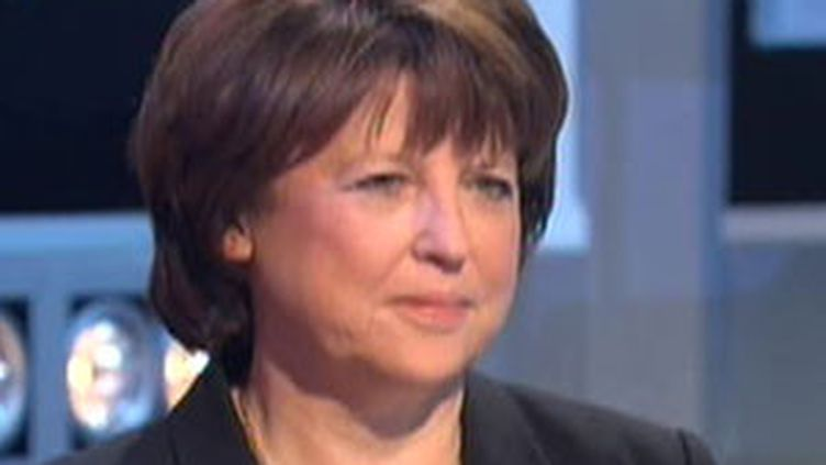 Martine Aubry (archives) (France 2)