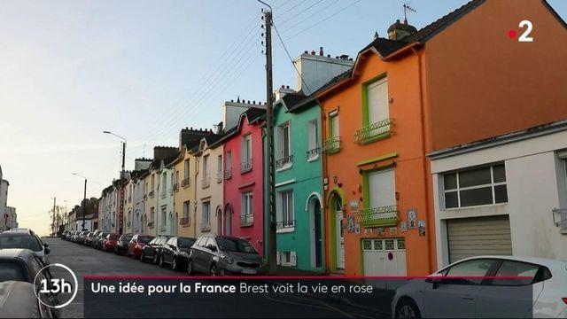 Bretagne : Brest reprend des couleurs grâce à ses façades