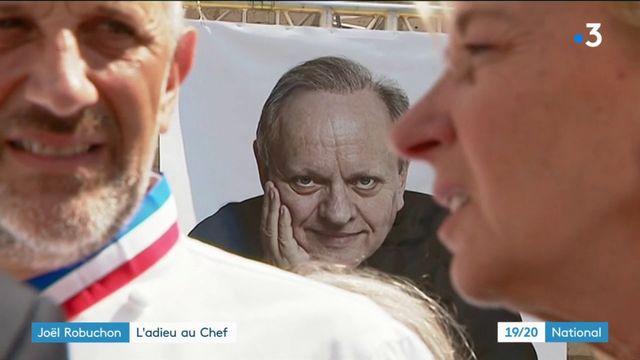 Joël Robuchon : l'adieu au Chef