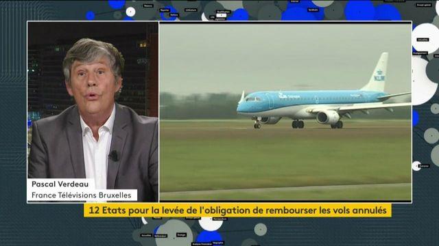Des Etats veulent la levée de l'obligation de rembourser les billets d'avions