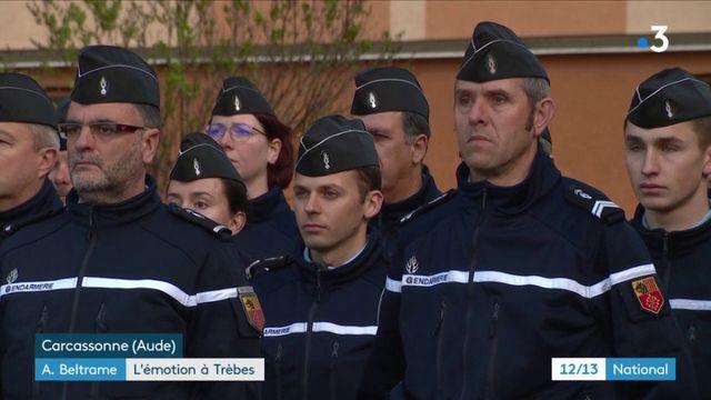 Hommage national à Arnaud Beltrame : l'émotion à Carcassonne