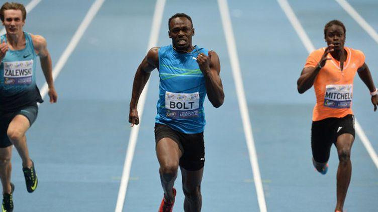 Usain Bolt (JANEK SKARZYNSKI / AFP)