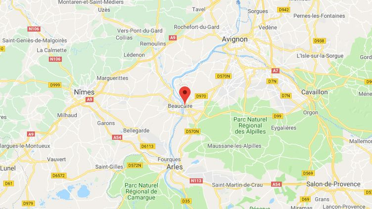La commune de Tarascon dans les Bouches-du-Rhône. (FRANCEINFO / RADIOFRANCE)