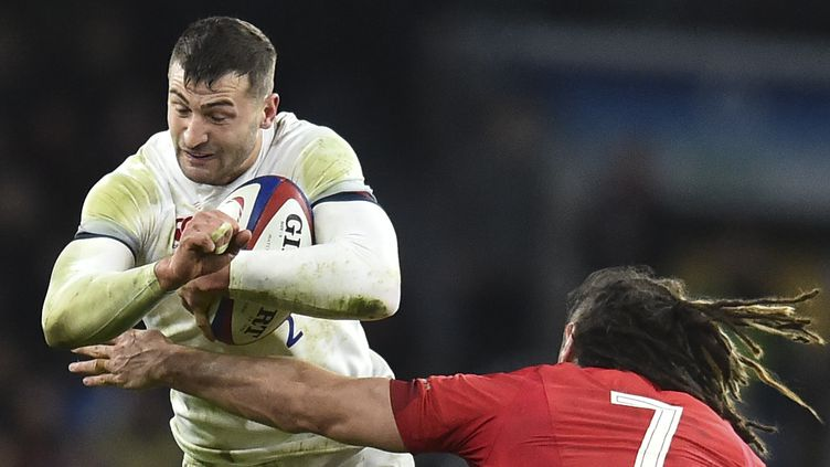 L'ailier anglais Jonny May a fait mal aux Gallois (GLYN KIRK / AFP)