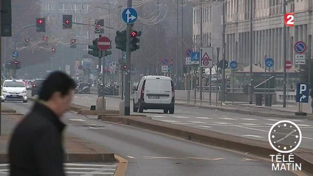 Pollution : la circulation en voiture interdite à Milan