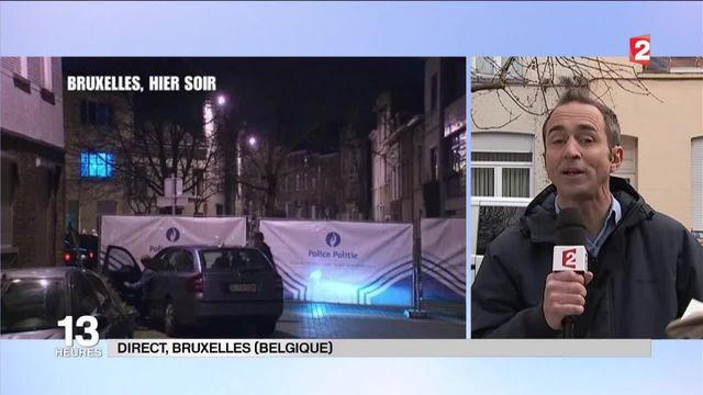 Fusillade à Bruxelles : deux hommes recherchés par la police