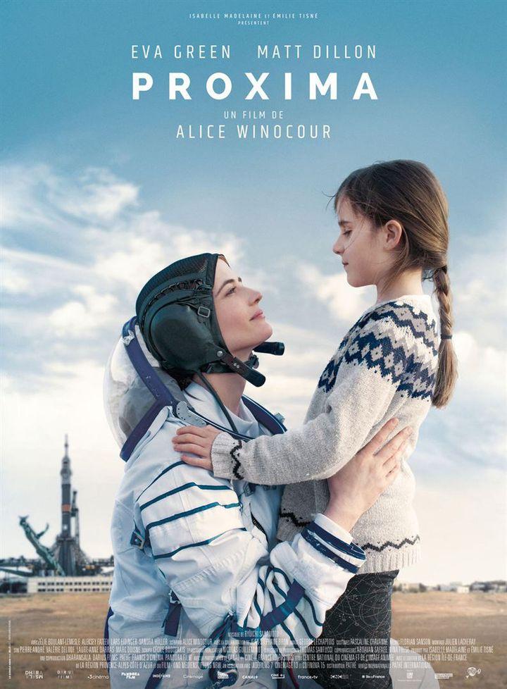 """L'affiche de """"Proxima"""" de Alice Winocour. (PATHÉ.)"""