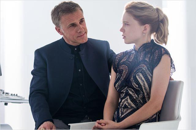 "Christophe Waltz et Léa Seydoux dans ""007 Spectre""  (2015 Sony Pictures Releasing GmbH)"