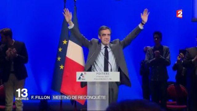 François Fillon : à Poitiers, le meeting de la reconquête