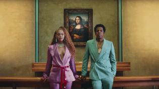 Beyoncé et Jay-Z ont publié un clip tourné dans le musée du Louvre (Paris), le 16 juin 2018. (BEYONCE / YOUTUBE)