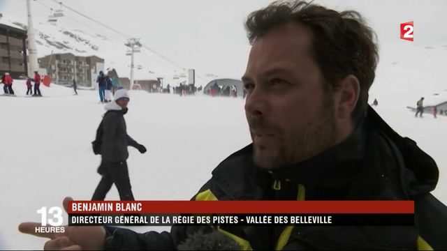 Tempête Eleanor : des pistes de ski fermées dans les Alpes