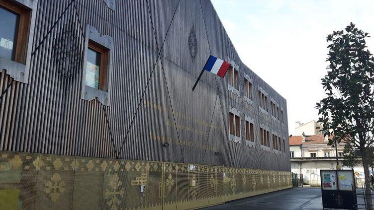 L'école Robert Doisneau, à Saint-Denis (Seine-Saint-Denis). (RADIO FRANCE / REMI BRANCATO)