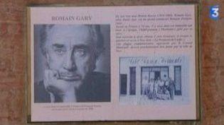 Romain Gary, promenade à Nice  (Culturebox)