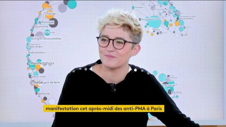 Capture écran de franceinfo, le 6 octobre 2019. (FRANCEINFO)