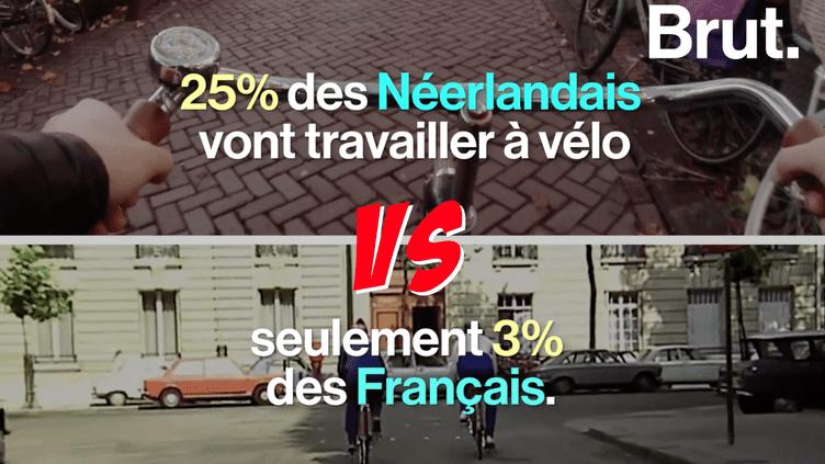 Pourquoi les Pays-Bas sont-ils plus ouverts aux vélos que la France ? (BRUT)