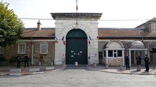 L'entrée de la prison de Fresnes le 20 septembre 2016 (PATRICK KOVARIK / AFP)