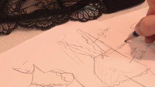 La lingerie est une savoir-faire français reconnu dans le monde (CAPTURE D'ÉCRAN FRANCE 3)