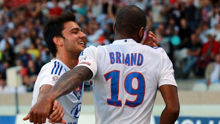 Jimmy Briand (Olympique Lyonnais) (PHILIPPE MERLE / AFP)