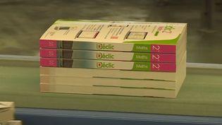 Les nouveaux programmes de collège et de lycée ont obligé les éditeurs à mettre les bouchées doubles afin de fournir des manuels scolaires à temps (CAPTURE ECRAN FRANCE 2)