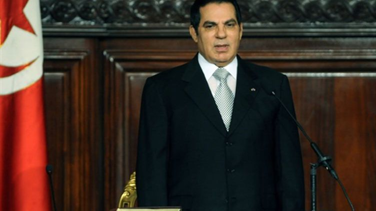 Ben Ali est victime d'un cancer depuis plusieurs années mais cette attaque ne serait pas liée à sa maladie (AFP PHOTO / FETHI BELAID)